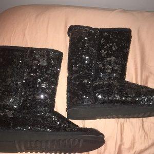Aeropostale Shoes - Black Aeropostale sequin boots
